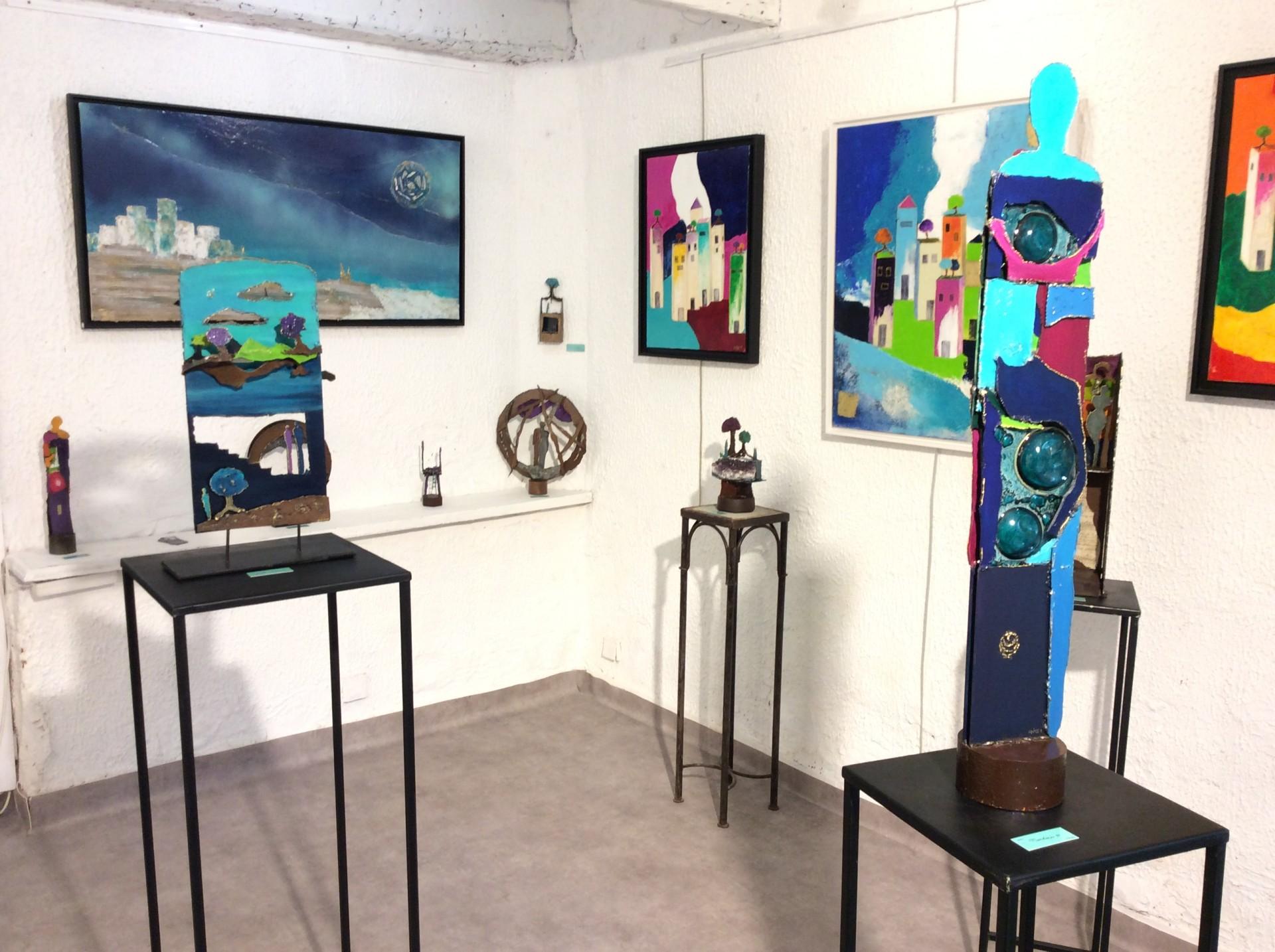 Sanary Galerie Barbarella ( 2017 et 2018 )