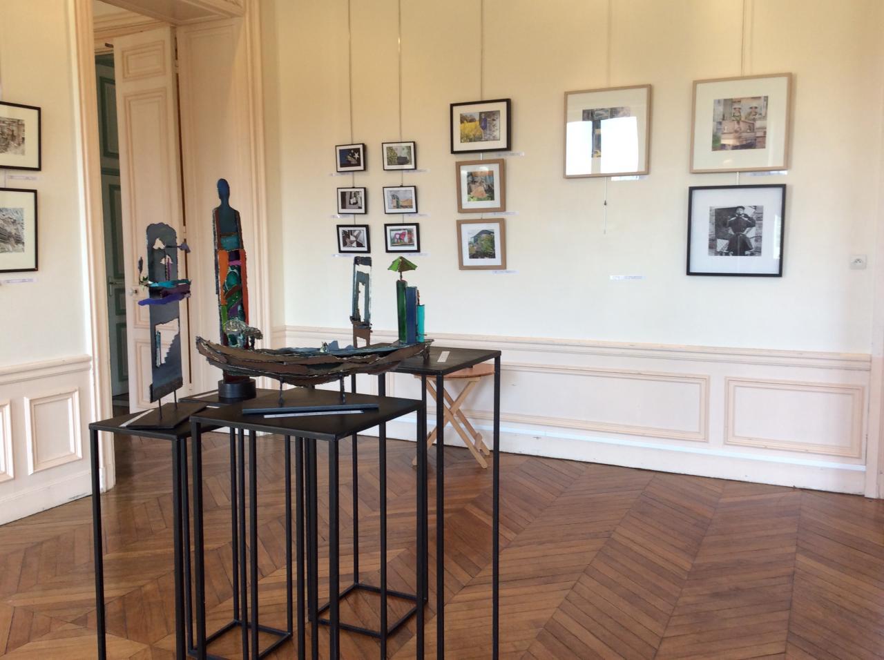 Artothèque à la Maison des Arts de Brunoy